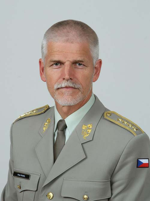 General Petr Pavel in Romania