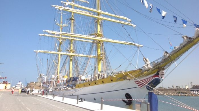 romanian-training-ship-mircea-at-a-sailing-event-in-the-netherlands