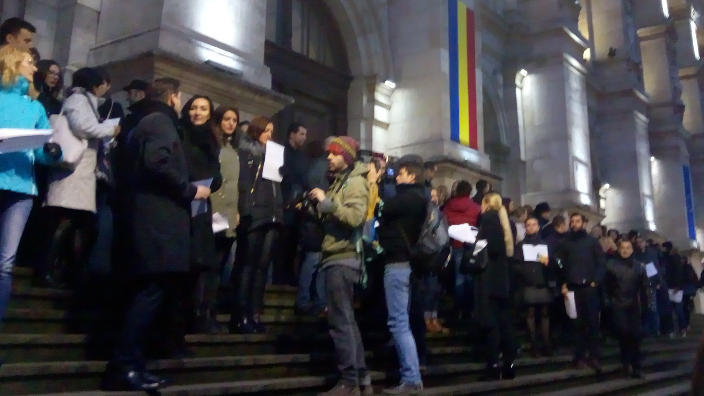 romanian-judges-and-prosecutors-protest-against-justice-laws-changes