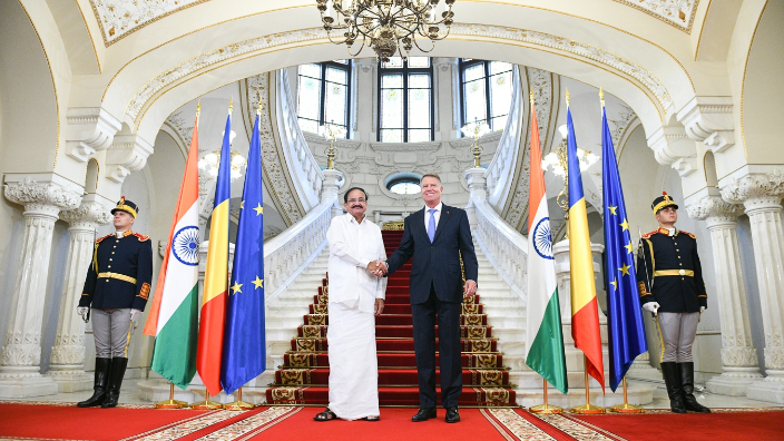 vice-president-of-india-on-official-visit-in-romania