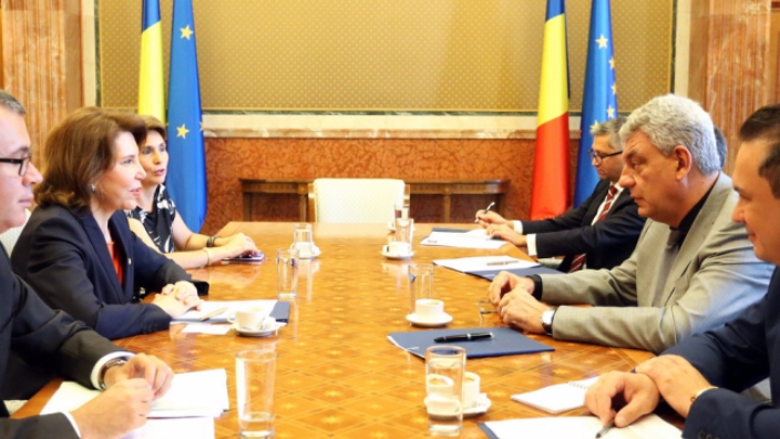 meeting-of-prime-minister-mihai-tudose-with-french-ambassador-michele-ramis